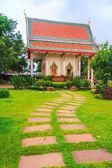 Walkway To Temple — Stock Photo