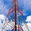 Radio tower and sky — Stock Photo #14719409