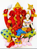Ganesh is the god of India. Located in Thailand — Stock Photo