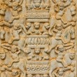 Pattern on temple wall Thailand — Stock Photo