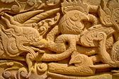 Desen Tapınağı duvar Tayland — Stok fotoğraf