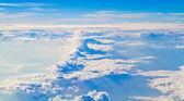 голубое небо фоновой текстуры — Стоковое фото