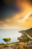 Seaside landscape — Stock Photo