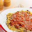 Stock Photo: Italian food, Spaghetti