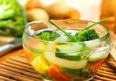 Comida, sopa — Fotografia Stock