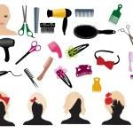 Hairdressing — Stock Vector #12530651