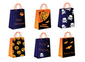 Halloween bags — Stock Vector