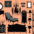 Royalty-Free Stock Vector Image: Furniture