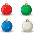 Christmas decorations — Stock Vector #37082783