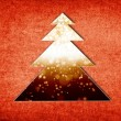 Abstract christmas tree — Stock Photo