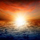красивый закат — Стоковое фото