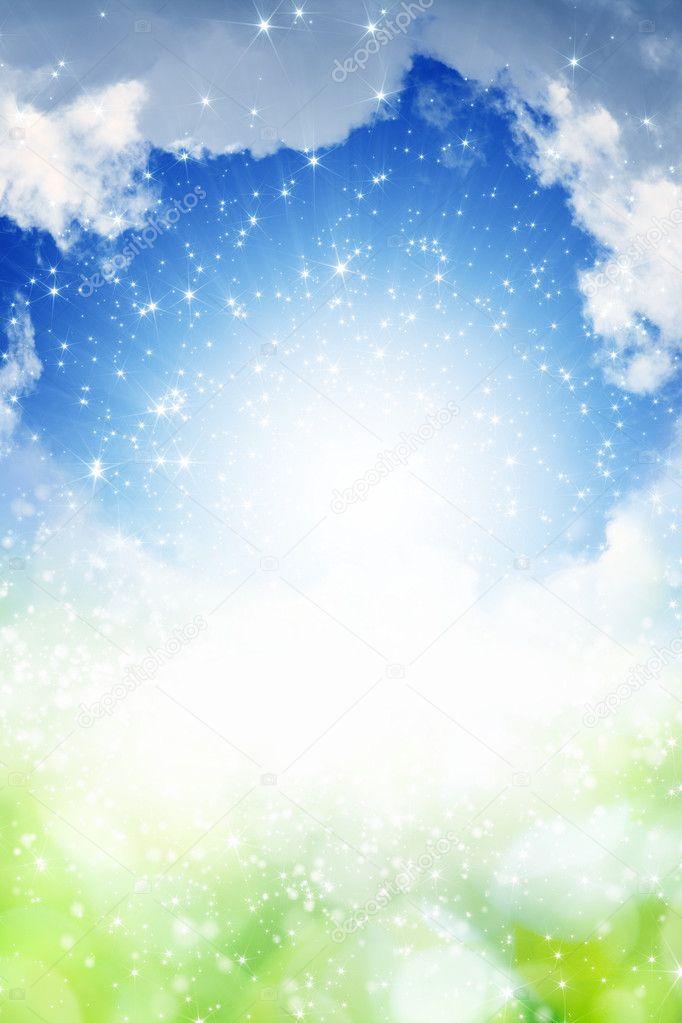 抽象天空矢量图