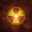 Stock Photo: Radiation sing