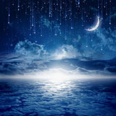 Vacker natt — Stockfoto