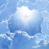 Cristo en el cielo, pascua — Foto de Stock