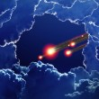 Asteroid impact — Stock Photo #22848772