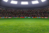 Soccer stadium — Photo