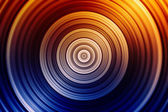 Colorful concentric circles — Stock Photo