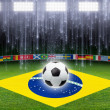Stock Photo: Soccer background