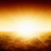 красивый восход солнца — Стоковое фото
