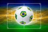 足球背景 — 图库照片