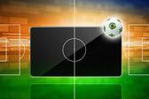 Fútbol online, fútbol de Brasil — Foto de Stock