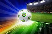 Brazil soccer live — Photo