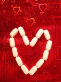 Pills for Love — Stock Photo