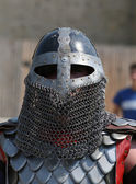 Medieval Knight in armor — Stock Photo