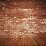 Old Styled brick interior — Stock Photo