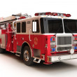 Stock Photo: Firetruck on white background