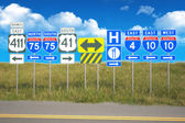 Roads of travel — Stock Photo