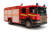 European Firetruck — Stock Photo