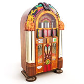 Retro vintage jukebox — Fotografia Stock
