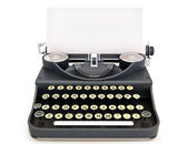 Retro vintage typewriter — Stock Photo