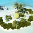 Paradise Island for two — Stock Photo