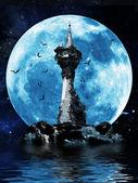 čarodějky věž — Stock fotografie