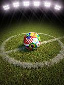 Mistrzostwa świata piłka nożna — Zdjęcie stockowe