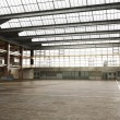 Large Interior  warehouse. — Stock Photo