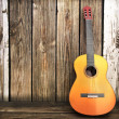 Guitar music background — Stock Photo #34098789