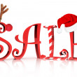 Stock Photo: Christmas Holiday Sale