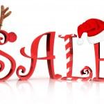 venta de vacaciones de Navidad — Foto de Stock
