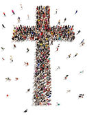 People finding Christianity, religion and faith. — Stock Photo