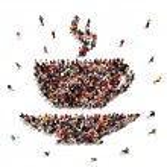 People that enjoy coffee or tea concept — Stock Photo #51780125