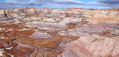 Blue Mesa at Petrified Forest National Park in North East Arizona USA. — Stock Photo