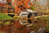 Mabry Mill, Blue Ridge Parkway, Virginia USA — Stock Photo