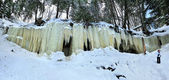 Eben Ice Caves, Michigan USA — Stock Photo