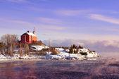 Marquette Harbor Lighthouse, Michigan USA — Stock Photo