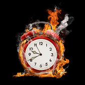 Alarm flame — Stock Photo