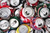 Tin cans — Stock Photo